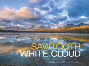Sawtooth-White Cloud cover